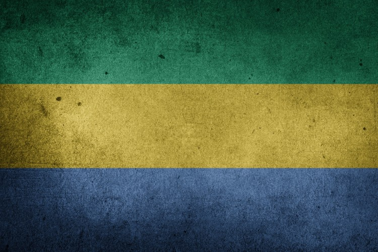 Flagge von Gabun