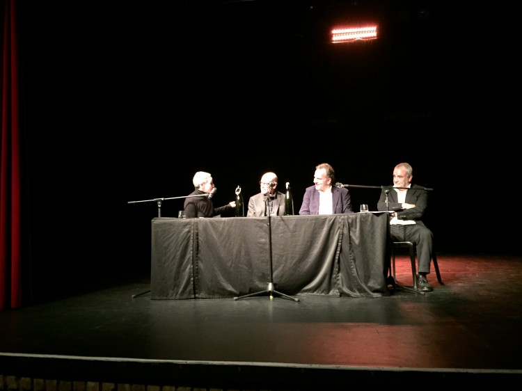 Marion Brasch, John Simenon, Amadeus Gerlach, Walter Kreye