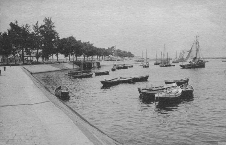 Fischereihafen von Ouistreham