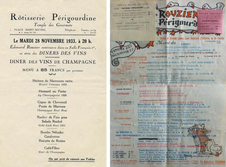 Speisekarte Rôtisserie Périgourdine