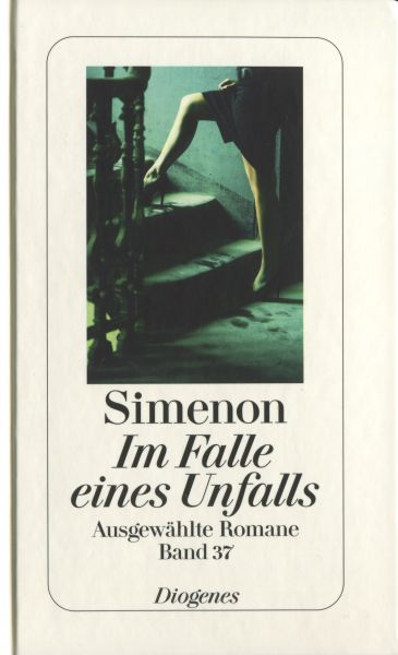 im falle eines unfalls von georges simenon. Black Bedroom Furniture Sets. Home Design Ideas